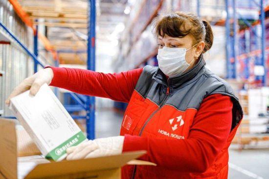 """""""Нова пошта"""" за чотири дні безоплатно доставить лікарням 120 тонн медичних товарів"""