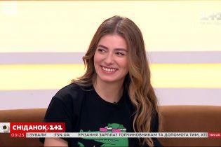 """Теперь меня знают как актрису, я не как персонажа – Дарья Петрожицкая в студии """"Сніданка"""""""