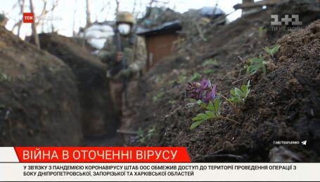 Росія бере коронавірус у союзники: чобіт російського солдата крокує по країні НАТО