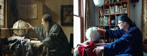 Юзеры повторяют шедевры искусства из подручных средств: Музей Гетти запустил карантинный челлендж