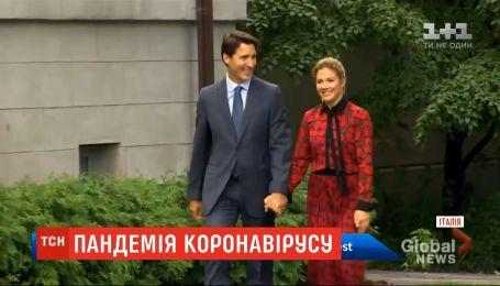 У Канаді від коронавірусу видужала дружина прем'єр-міністра Джастіна Трюдо