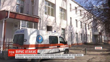У Луцьку інфікувалася директорка лікарні, а в Тернопільській області катастрофічно бракує медиків