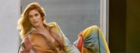 Сінді Кроуфорд оприлюднила рідкісне фото з домашніх пологів