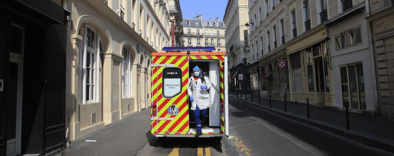 Во Франции зафиксировали рекордный рост смертей от коронавируса