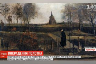 У Нідерландах із зачиненого на карантин музею поцупили полотно Ван Гога