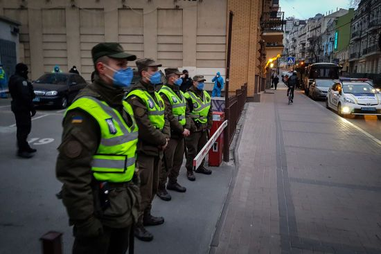Депутати хочуть змусити нацгвардійців носити індивідуальні номерні знаки під час масових заходів