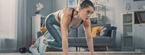 Спорт під час карантину: домашнє тренування на все тіло без додаткового інвентарю