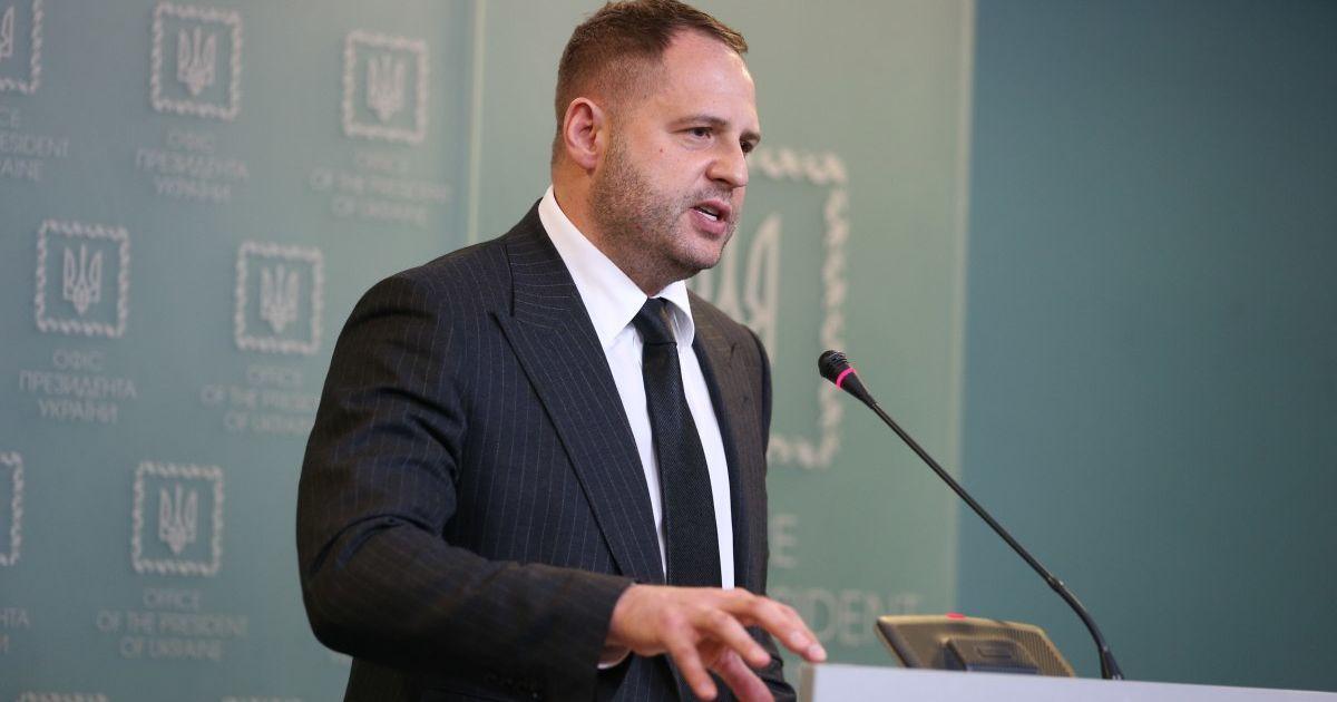 """""""США можуть відіграти одну з ключових ролей у досягненні миру на Донбасі"""", - Андрій Єрмак"""