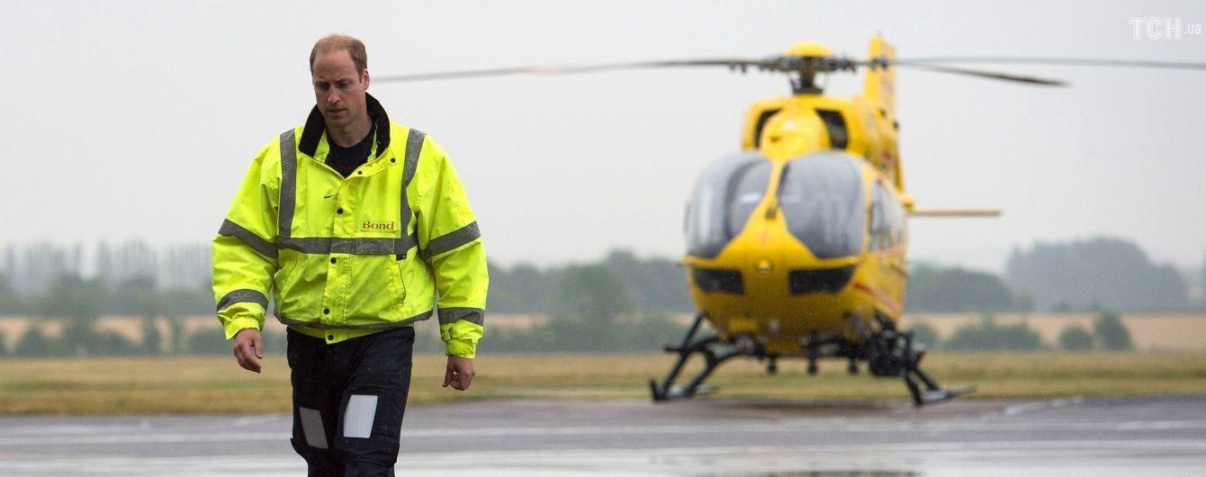 Принц Уильям хочет вернуться к работе пилота в санитарной авиации