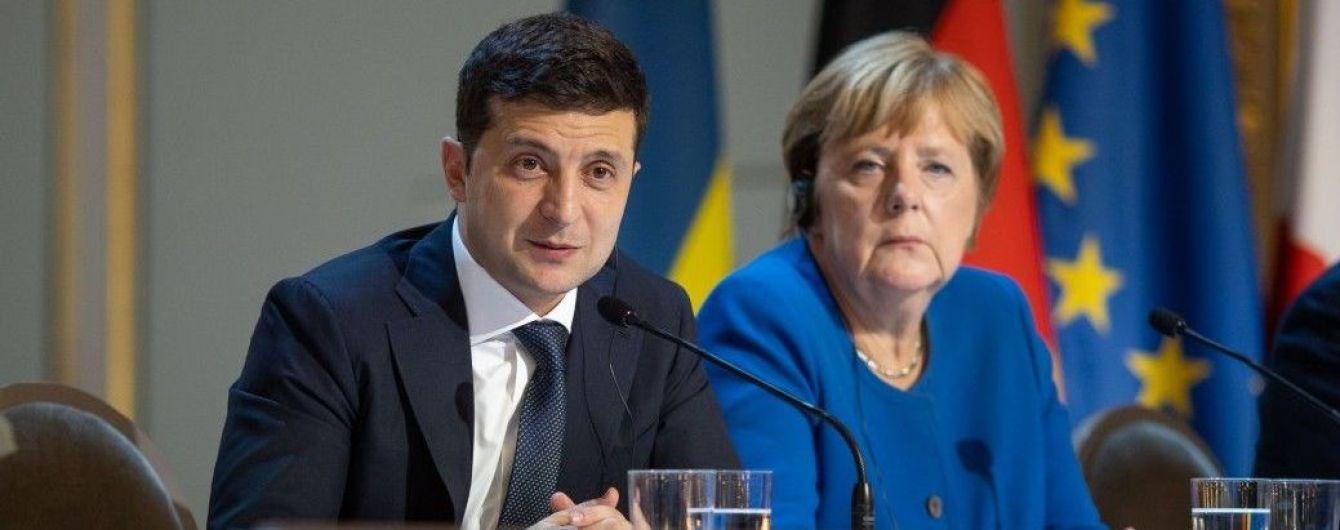 Зеленский переговорил с Меркель об коронавирусе, кредите, МВФ и Донбассе