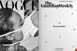 Від Vogue до Time: коронавірус заполонив обкладинки світових журналів