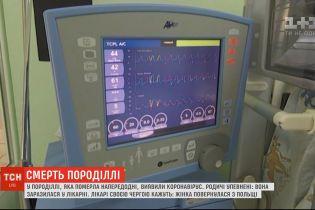 У роженицы из Ивано-Франковска посмертно подтвердили коронавирус