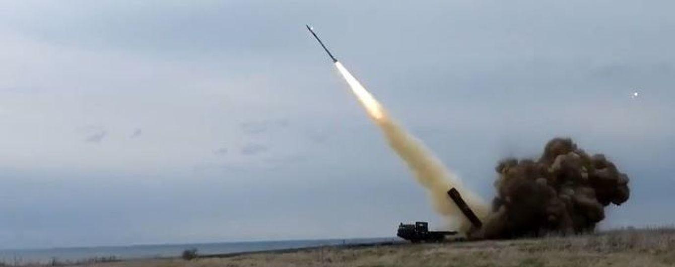 """Генштаб обнародовал видео с огневым испытанием ракетного комплекса """"Ольха-М"""""""