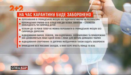Жесткий карантин: правительство одобрило ряд усиленных ограничительных мер