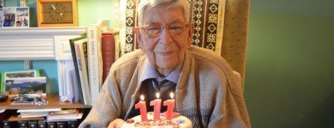 Британець у віці 112 років став найстарішим чоловіком планети й розповів, як переживає спалах коронавірусу