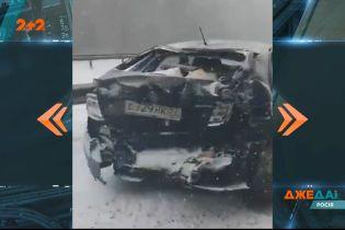 У Росії сталася аварія за участю 40 машин – виною тому снігопад