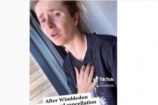 Артистка від Бога: Світоліна зняла нове відео у TikTok і розридалася через скасування Wimbledon-2020