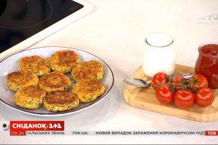 Сырники с зеленью от Руслана Сеничкина