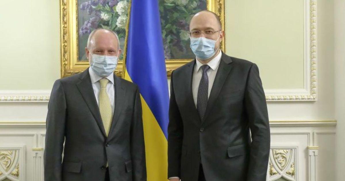 Шмыгаль рассказал, куда направят 80 миллионов евро помощи от ЕС
