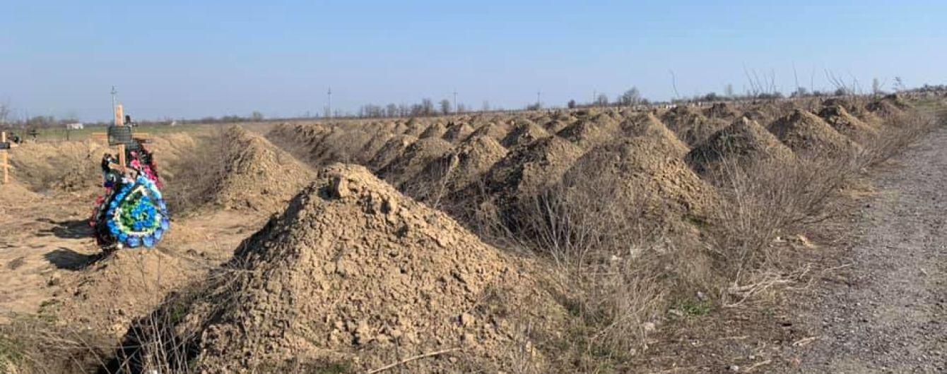 В Днепре на кладбищах выкопали 600 могил для жертв коронавируса
