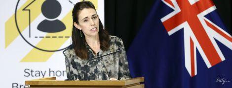 В блузці з акварельними розводами: новий аутфіт прем'єр-міністерки Нової Зеландії Джасінди Ардерн