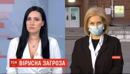 Чи є в лікарнях можливості дотримуватися протоколу від МОЗ - головна лікарка Олександрівської лікарні