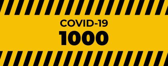 В Україні кількість інфікованих коронавірусом сягнула понад 1000 осіб - дані на 3 квітня