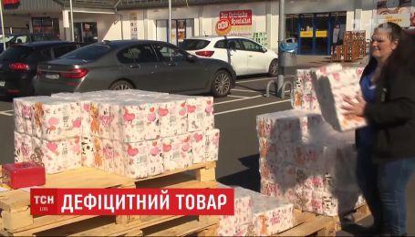 В немецком городе Дорнбург продают туалетную бумагу на вынос