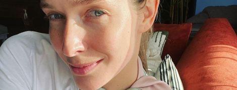 Без макіяжу і з усмішкою: Катя Осадча показала, як релаксує вдома