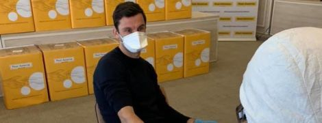 "Легенда ""Шахтера"" испытал на себе быстрый тест на новый коронавирус"