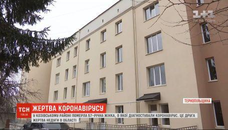В Тернопольской области зафиксировали вторую смерть от коронавируса