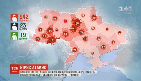 За добу в Україні зафіксували 138 нових хворих на коронавірус