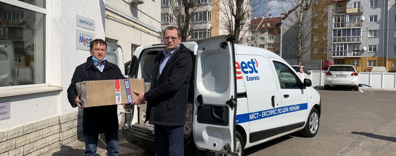 Глобальна поштово-логістична група компаній Meest доставила до Львова другу партію експрестестів на COVID-19