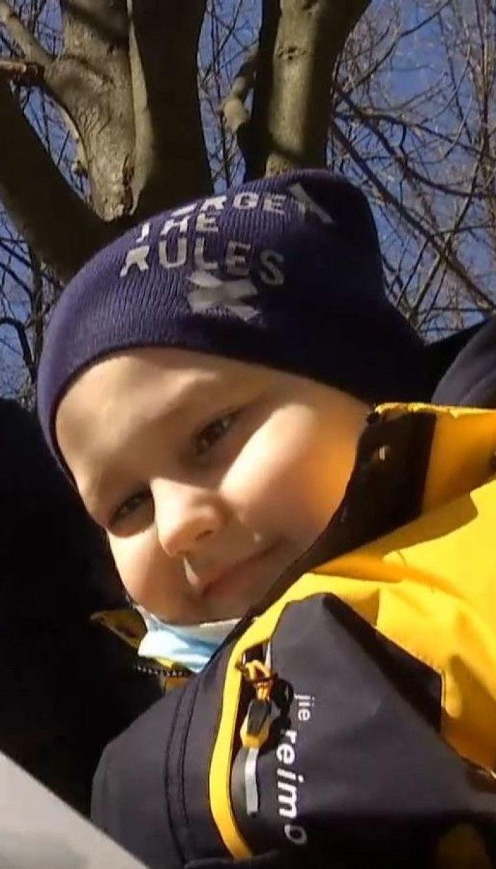 7-річний Микита зі злоякісною пухлиною головного мозку потребує негайної допомоги