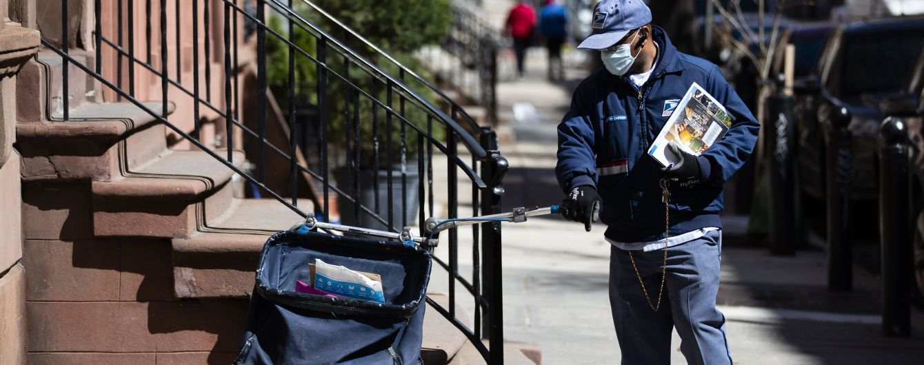 США не відправляють пошту до 22 країн через коронавірусну пандемію