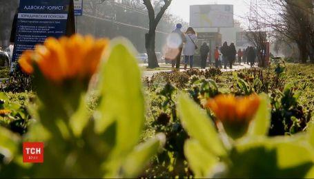 Погодные условия синоптики делают прогнози на тепловые рекорды в апреле
