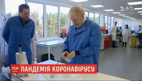 Хворого на коронавірус прем'єра Британії Бориса Джонсона ушпиталили