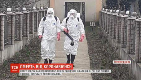 Третя жертва віруса у регіоні: у Тернопільській області померсвященник