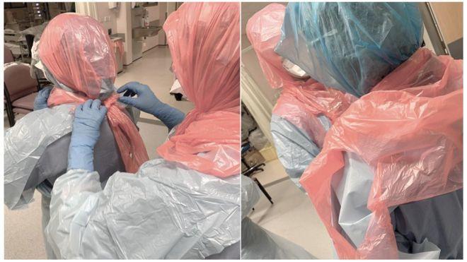 Захисні костюми зі сміттєвих мішків: медичка розповіла про стан лікарень у Британії через COVID-19