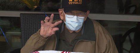 У США 104-річний ветеран Другої світової війни одужав від коронавірусу у свій день народження