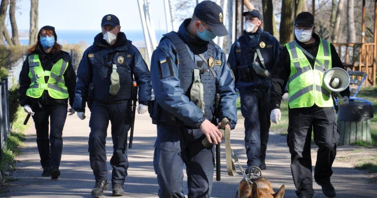 Поліціясклала 5 тисяч протоколів на порушників карантину