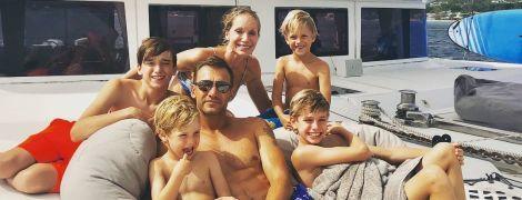 """""""Любим тебя, маленький друг"""": тренер сборной Украины поздравил сына с днем рождения милым фото в Instagram"""