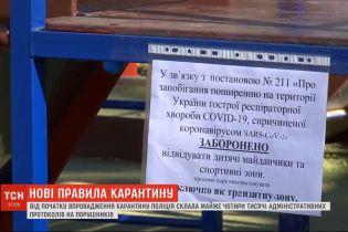 Полиция составила уже 4 тысячи протоколов о нарушении карантинных ограничений - МВД