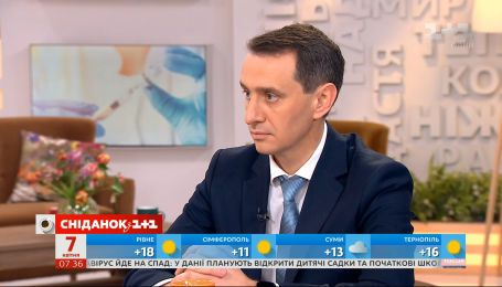 """Виктор Ляшко ответил на все вопросы о коронавирусе от зрителей """"Сніданку"""""""