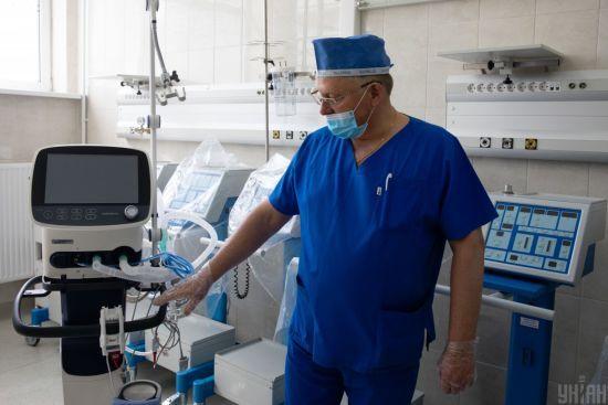 У МОЗ розповіли, скільки хворих на COVID-19 перебувають на штучній вентиляції легень