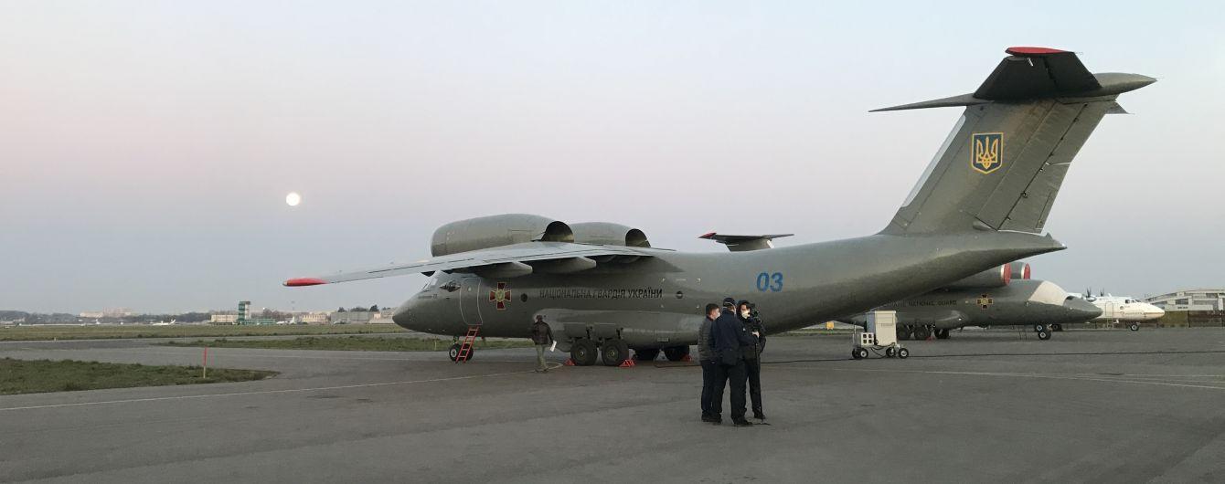 До України прибув літак з Італії з допомогою для ліквідації наслідків повені