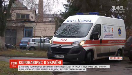 В Ровно коронавирус обнаружили в трех медсестер и трех сотрудников СБУ