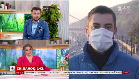 Корреспондент Петр Кузык о погоде и изменении карантинных ограничений – прямое включение