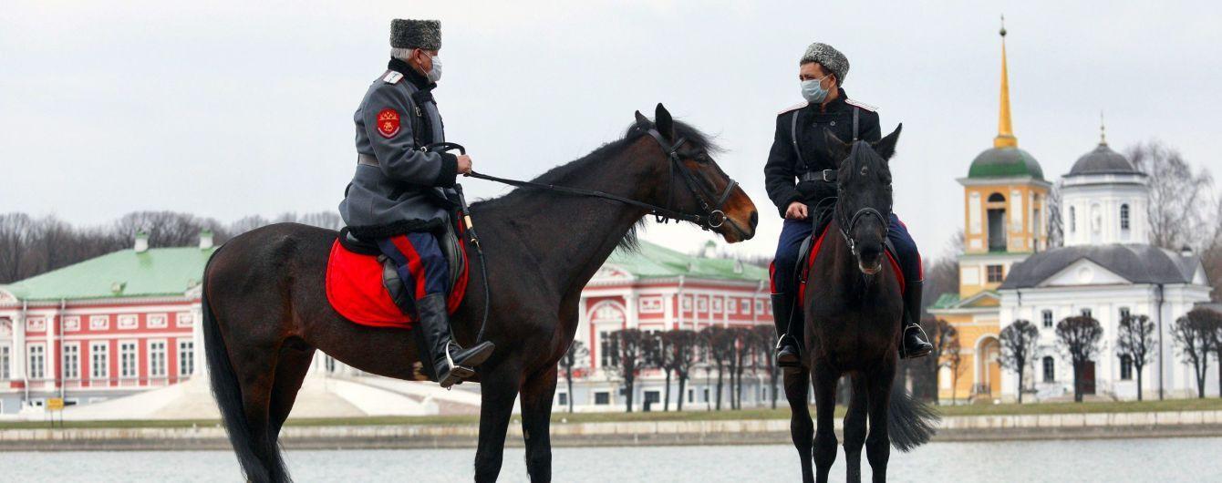 В России количество инфицированных коронавирусом перевалило за 10 тысяч человек