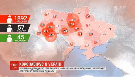 Пять жизней унес коронавирус за сутки в Украине